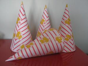 Kit 200 cônes Popcorn