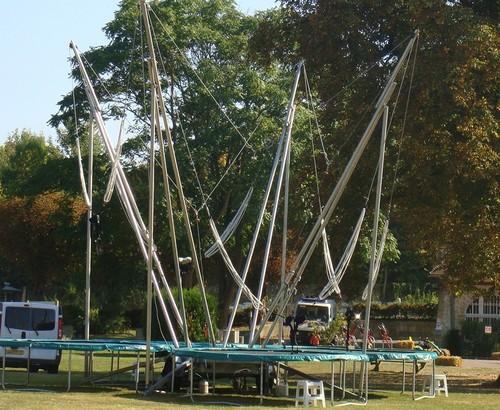 Trampoline Elastique