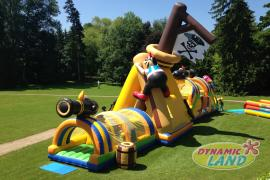 Parcours gonflable Mille Sabords Grande Version Pirate